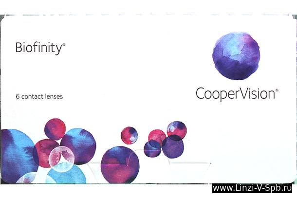 biofinity линзы
